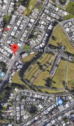 Mapa Ponchar.com